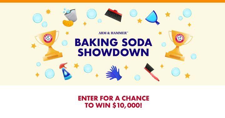 Arm & Hammer Baking Soda Showdown Sweepstakes