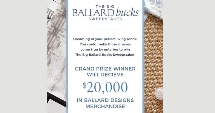 Big Ballard Bucks Sweepstakes