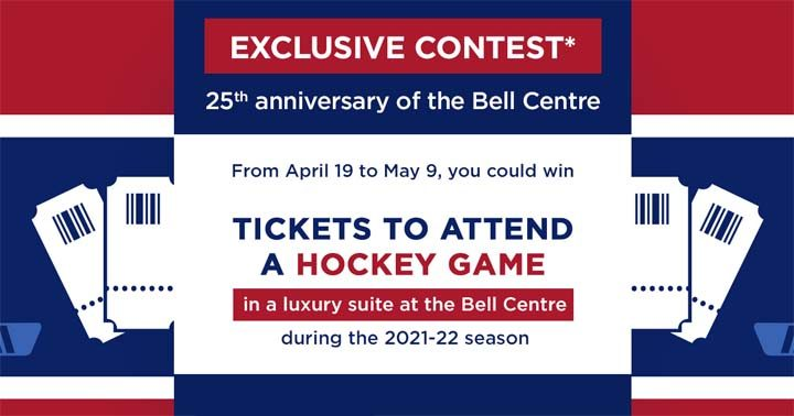 Rona Tickets to attend a Hockey Game Contest