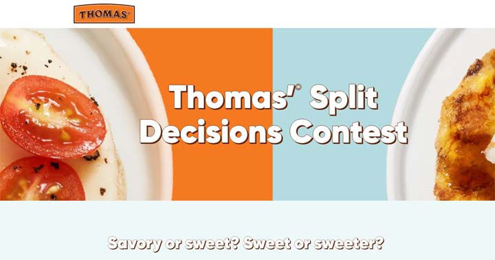 Thomas' Split Decisions Contest