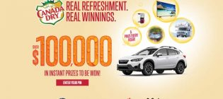 Canada Dry Real Refreshment Real Winnings Contest