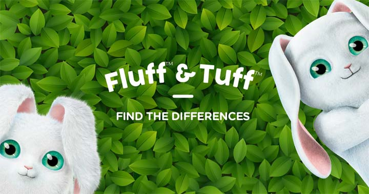 Find the differences with Cascades Fluff & Tuff Contest