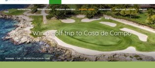 Gendron Travel Win your golf trip Contest