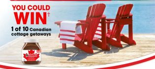 Nutella Canadian Cottage Getaway Contest
