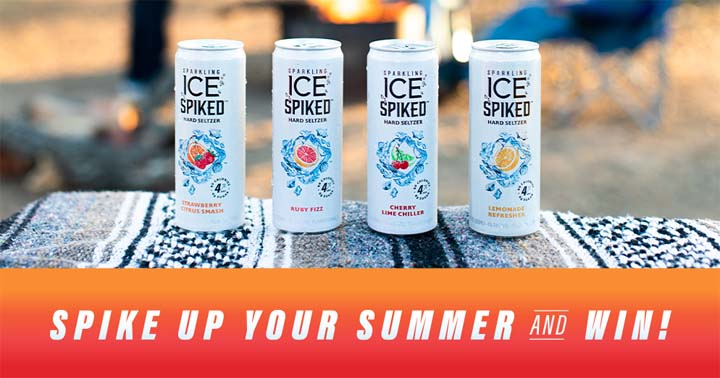 Sparkling Ice Spiked Spike Up Your Summer Sweepstakes
