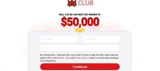 Sweepsclub $50k Grand Prize Sweepstakes