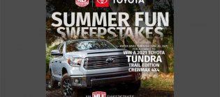 MLF Toyota Summer Fun Sweepstakes