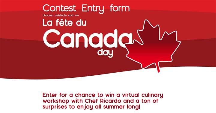 Canada Day Contest: discover, celebrate and win Contest