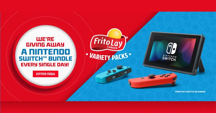 Tasty Rewards Frito-Lay Variety Pack Contest