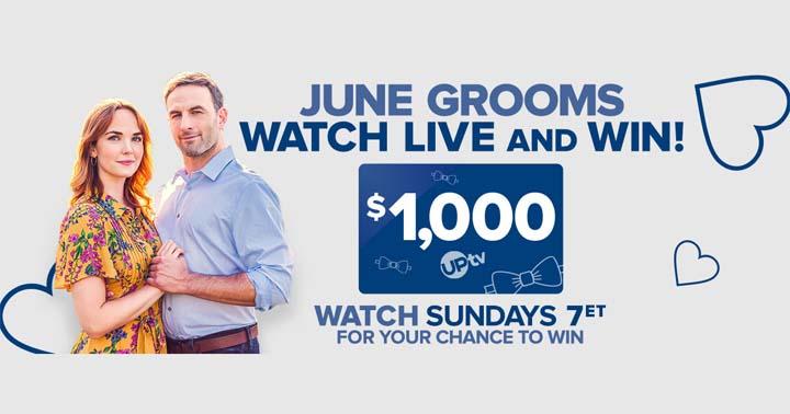 June Grooms Watch & Win Sweepstakes