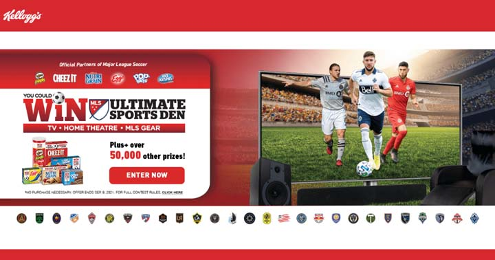 Kellogg's MLS Soccer Contest