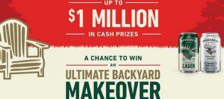 Moosehead Ultimate Backyard Makeover Contest
