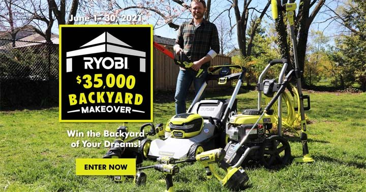 Ryobi Backyard Makeover Contest