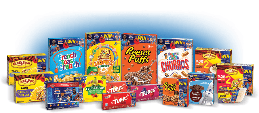 Products Space Jam General Mills Contest
