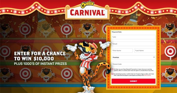 Cheetos Carnival Contest