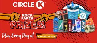 Circle K Rock Paper Prizes Contest