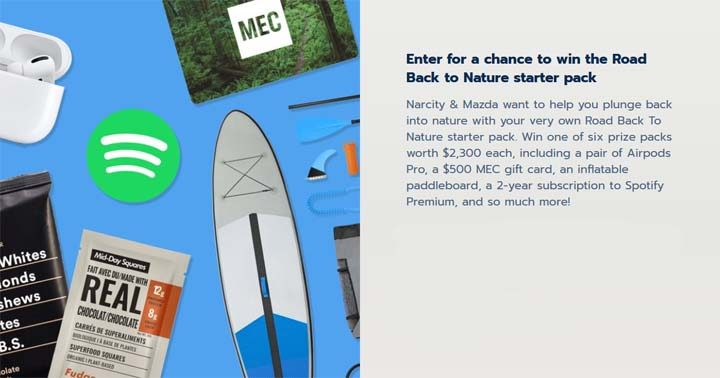 Narcity & Mazda Seeking Nature Contest