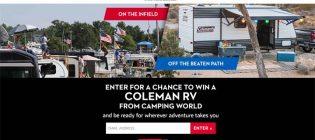 NASCAR Summer Camping Sweepstakes