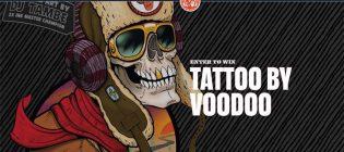 New Belgium Brewing Voodoo Ranger Tattoo Giveaway