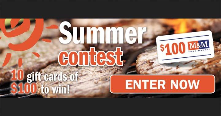 Publisac M&M Summer Contest