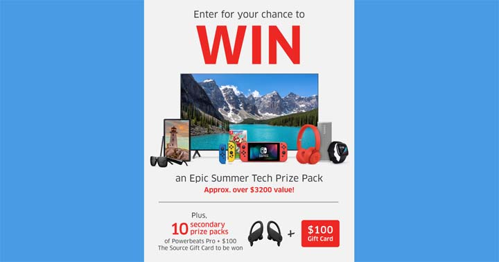 The Source Epic Summer Tech Contest