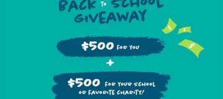 Aptivada Back to School Sweepstakes Contest