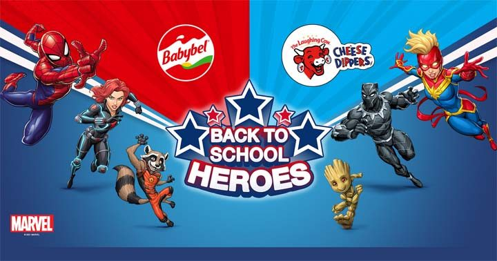Babybel The Laughing Cow Back to school heroes Contest