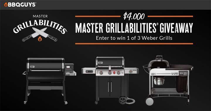 BBQGuys $4,000 Master Grillabilities Giveaway!