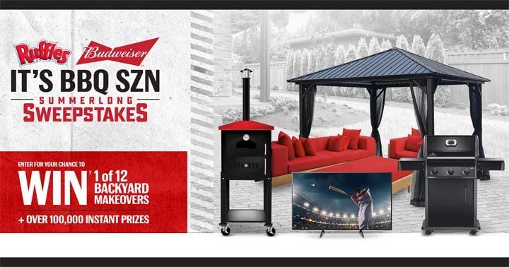 Budweiser and Ruffles Its BBQ SZN Summerlong Sweepstakes