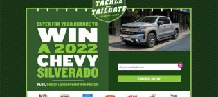 Campbell Soup Tackle The Tailgate Promotion Sweepstakes