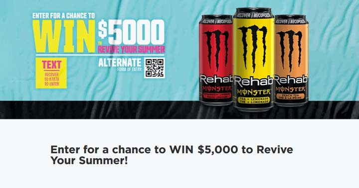 Circle K West Monster Rehab Summer Package Giveaway