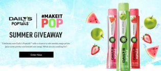 Daily's Poptails Make it Pop Instant Win Game and Sweepstakes