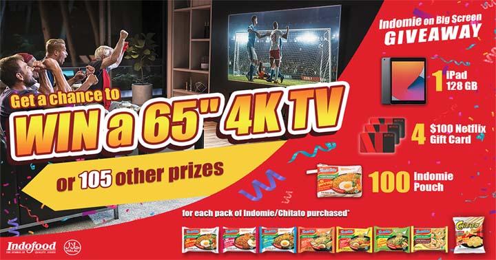 Indomie on Big Screen Giveaway Contest