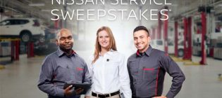 Nissan Service Promotion Sweepstakes