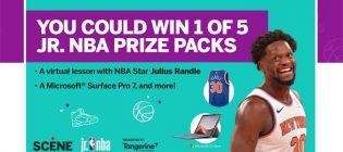 SCENE LP Jr. NBA Virtual Clinic Contest