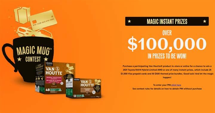 Van Houtte Magic Mug Contest