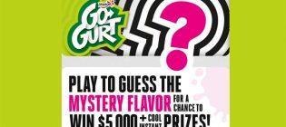 Yoplait Go-GURT Mystery Flavor Sweepstakes