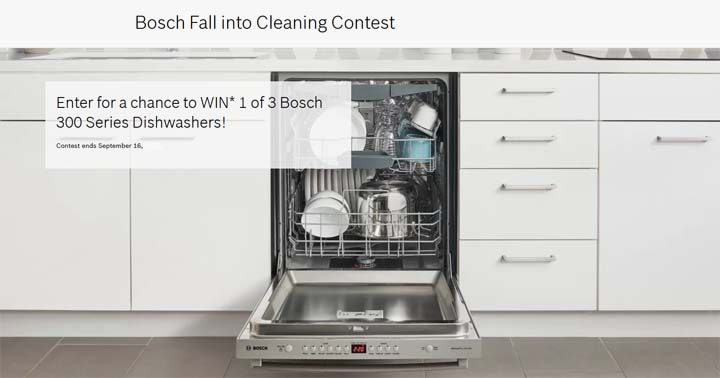 Bosch Fall into Cleaning Contest