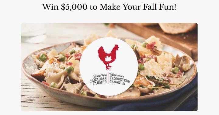 Chicken Farmers Chicken.ca Fall Contest
