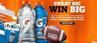 Gatorade Sweat Big - Win Big Sweepstakes