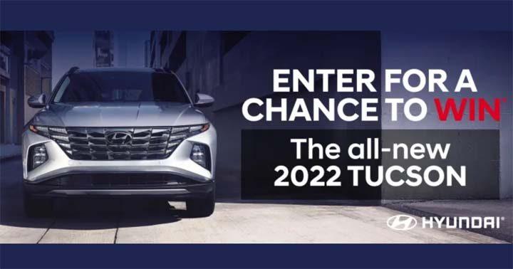 Hyundai TUCSON Giveaway Contest
