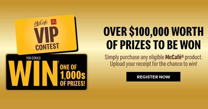 Keurig McCafé VIP Contest