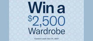 Mr. Big & Tall Win a $2,500 Wardrobe Contest