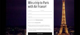 TIFF x Air France Win a Trip to Paris Contest