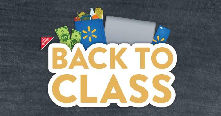 Walmart Back to Class Sweepstakes