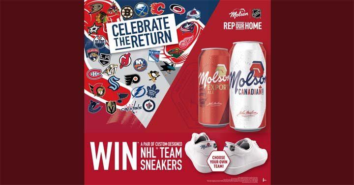 Molson Canadian/Export NHL Custom-Designed Team Sneakers Contest