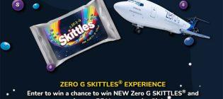 Skittles Zero G Sweepstakes
